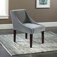 Soft, velvet upholstery & beautiful curves. We've found a winner in the Arlie Accent Chair.