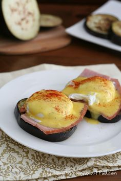 Eggplant Benedict (low carb, keto) | All Day I Dream About Food