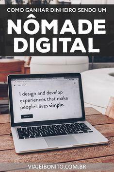 7e6ecbf86 Como nômades digitais ganham dinheiro? #nomad #trabalho #ferias #viajar # viagem
