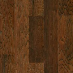 """""""Warm Cherry"""" by Mohawk - Hickory Click Together 5"""" Engineered - #Hardwood #Floor"""