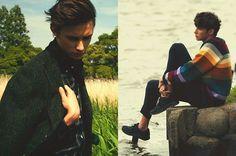 Male Model Otaku: Jacek Tuszynski by Masafumi Tanida | SENSE Magazine August 2015 [1]