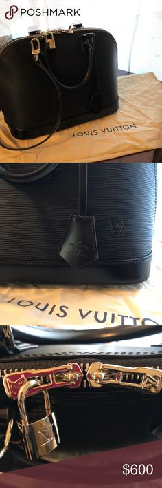 Alma pm Make a reasonable offer! Dust bag, strap, lock and key 🔐 included. Louis Vuitton Bags