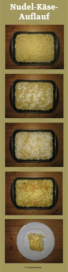 Nudel-Käse-Auflauf