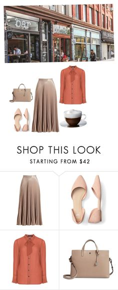 """""""Business Lunch Meeting"""" by ichigoftokyo on Polyvore featuring A.L.C., Manon Baptiste, Lodis and plus size clothing"""