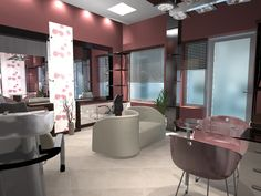 beauty+salons | Decorating ideas for beauty salons
