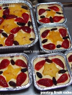 Fruit cake sponge 37 new Ideas Cake Filling Recipes, Pastry Recipes, Cookie Recipes, Fruit Kabobs Kids, Fruit Snacks, Vanilla Cookie Recipe, Resep Cake, Fruit Juice Recipes, Asian Cake