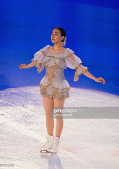 News Photo : Mao Asada of Japan preforms at the Smucker's...