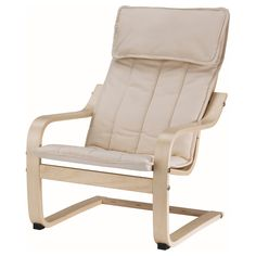 POÄNG  Children's armchair, birch veneer, Almås natural  $29.99	  Article Number:   101.165.52  Easy to clean. Removable, machine washable cushion. Matches POÄNG armchair in adult size