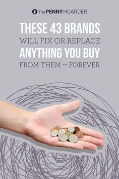 One of the easiest ways to save money is to buy products that last. The next best thing is to buy products with lifetime warranties like the ones sold by these companies. /thepennyhoarder/ - June 29 2019 at Save Money On Groceries, Ways To Save Money, Money Tips, Money Saving Tips, Frugal Tips, Saving Ideas, Money Matters, Money Management, Shopping Hacks