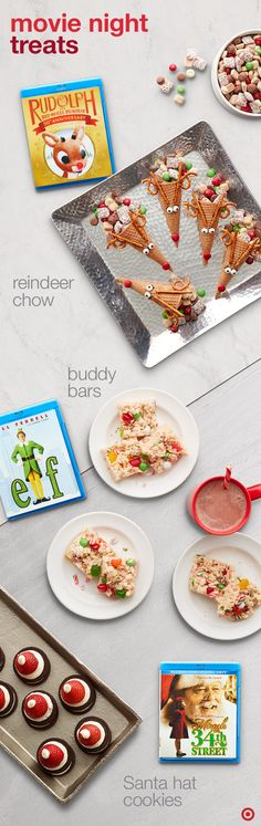 turn your favorite movie into a holiday memory with some clever creative food pairings
