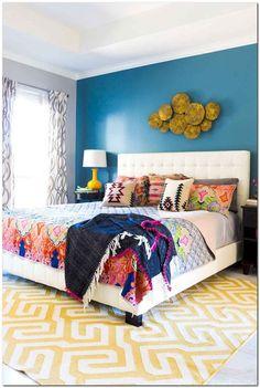 Master Suite, Chic Master Bedroom, Boho Bedroom Decor, Master Bedroom Design, Trendy Bedroom, Bedroom Colors, Shabby Chic Decor, Bedroom Ideas, Bedroom Designs