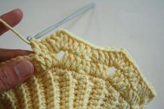Double warm crochet neck warmer for kids | lilleliis