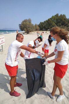 Beach Clean Up, Reduce Waste, Beach Pool, Beach Hotels, Volunteers, Seas, 6 Years, Pools, Greece
