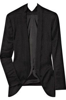 the modern blazer ~ THEYSKENS' THEORY Jery oversized stretch-twill jacket