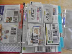 The Messy Roost: 52 Weeks to an Organized Home Challenge - Coupons and Meal Planning