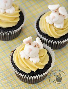 cobertura  de brigadeiro para cupcake