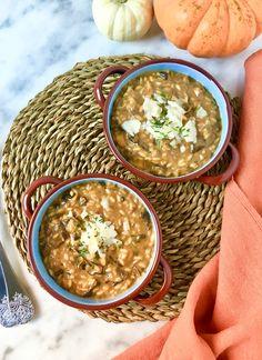 Risotto de ceps, calabaza y parmesano  http://irenecocinaparati.com/risotto-ceps-calabaza-parmesano/