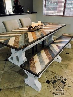 48 ideas living room table to copy today 31 Wood Pallet Furniture, Furniture Projects, Furniture Plans, Rustic Furniture, Wood Pallets, Modern Furniture, Outdoor Furniture, Furniture Stores, Antique Furniture
