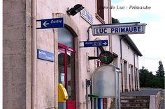 gare de Luc-Primaube , Aveyron