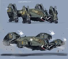 race game _race vehicle dropship(default military paint job ...