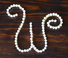wire hanger craft ideas | ... Beads, Aluminum Wire, How- to, Bead Crafts, Initials, Bead Letters