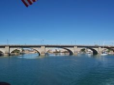 London Bridge - which in case you did not know is actually located in the town of Lake Havasu, Arizona, USA