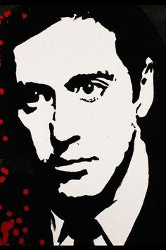godfather - Al Pacino The Godfather Poster, The Godfather Wallpaper, The Godfather Part Ii, Godfather Movie, Der Pate Poster, Mafia, Shire, Shark Silhouette, Coppola