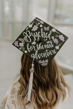 Psych Grad Cap - Graduation Cap Design Psychology Source by javawithjules - Custom Graduation Caps, Graduation Cap Toppers, Graduation Cap Designs, Graduation Cap Decoration, Graduation Diy, Graduation Pictures, Grad Pics, Grad Hat, Graduation Photoshoot
