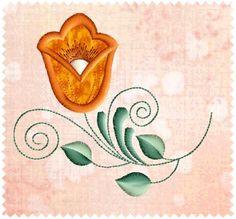 applique patterns | designs, TulipApplique: ABC-Free-Machine-Embroidery-Designs.com ...