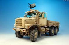 MMZ - Trumpetor 1/35 Mk23 MTVR Cargo Truck(재촬영)