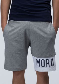 Fleece sweat shorts with logo - Antony Morato