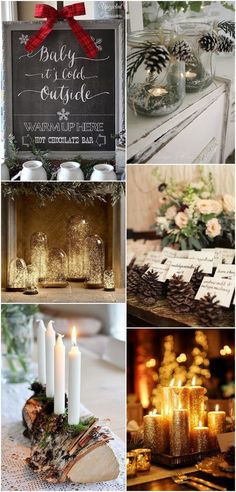 winter wedding ideas and inspiration - details