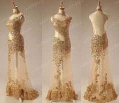 gold lace prom dress short prom dress cheap prom by sofitdress ...