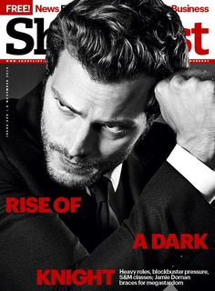 WORLD OF CHRISTIAN GREY — This is the essence of what makes Jamie Dornan...