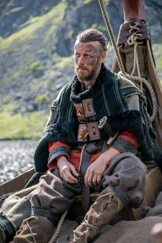 Peter Franzén ~ King Harald Finehair is a threat to Lagertha and Kattegat