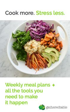 Save time, money, and stress with custom meal plans, interactive grocery lists, and optional grocery delivery.
