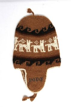 SALE 15% Off  Bolivian Peruvian Alpaca Yarn Hat Chullo Cap Light and Warm w  Andean Designs 6605816d833