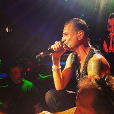 Dave Gahan in Detroit, Depeche Mode