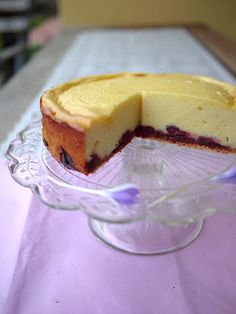 Cherry-Cheesecake (gluten free)