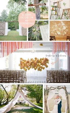 La mariee aux pieds nus - 8 idees de decor de ceremonie laique