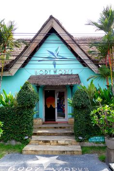 Body Works in Seminyak, Bali. Perfect place for a massage.