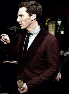 Benedict Cumberbatch. Via Twitter.