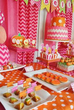 And Everything Sweet: Pink Pumpkin Party!!!