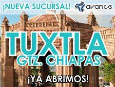 Hoy se abren las puertas de nuestra nueva sucursal en Tuxtla Gutiérrez. Visítenos en 12ª Poniente Sur No. 1536. Col. Dr. Romeo Rincón. A una cuadra del libramiento Sur. ¡Tendremos increíbles promociones!