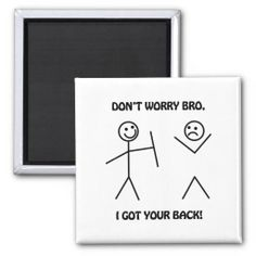 >>>Coupon Code          I Got Your Back - Funny Stick Figures Refrigerator Magnet           I Got Your Back - Funny Stick Figures Refrigerator Magnet in each seller & make purchase online for cheap. Choose the best price and best promotion as you thing Secure Checkout you can trust Buy bestSho...Cleck Hot Deals >>> http://www.zazzle.com/i_got_your_back_funny_stick_figures_magnet-147507249208318675?rf=238627982471231924&zbar=1&tc=terrest