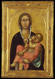 Paolo di Giovanni Fei, Madonna and Child, c. 1370s