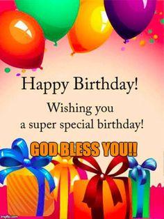 Birthday Wishes For Sir, Christian Birthday Greetings, Birthday Prayer, Birthday Wishes Messages, Birthday Blessings, Birthday For Him, Happy Birthday Quotes, Birthday Signs, Birthday Memes