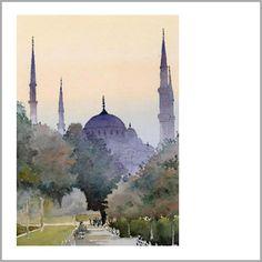 Michael Reardon, blue Mosque, Istanbul