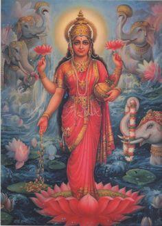 Indian Goddess of Abundance - Lakshmi