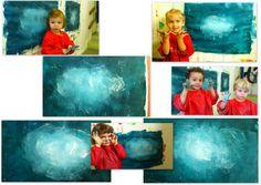 les petites têtes de l'art: Comme sur un nuage de Gerhard Richter